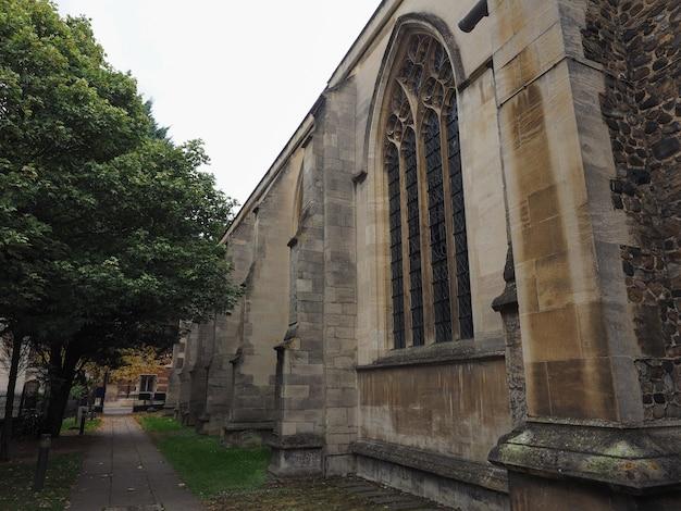 Petite église st mary à cambridge