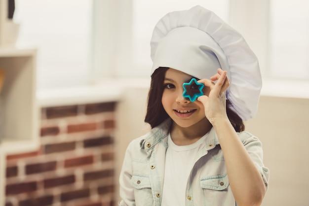 Petite fille, cuisson