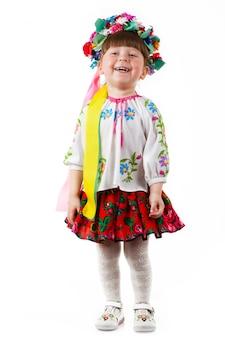 Petite fille ukrainienne