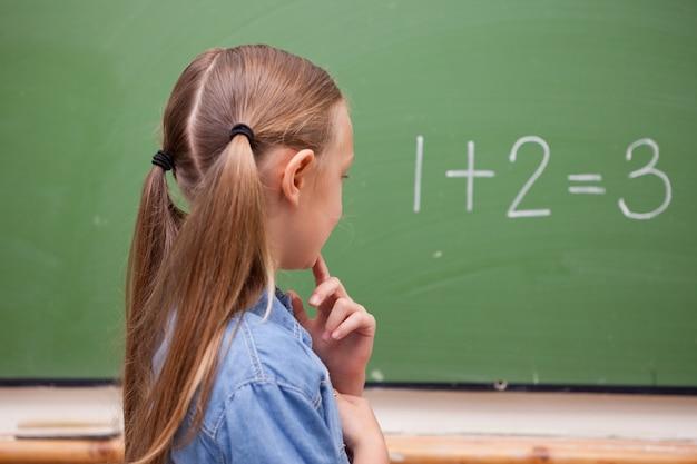 Petite pensée d'écolière