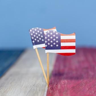 Petits drapeaux usa