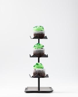 Petits gâteaux à la crème verte
