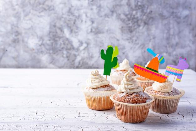Petits gâteaux pour célébrer la fiesta mexicaine