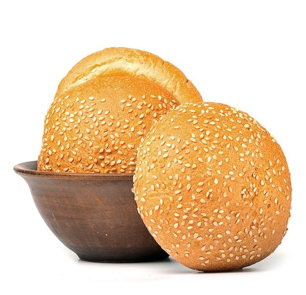 Petits pains frais au sésame