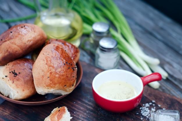 Petits pains frais faits maison
