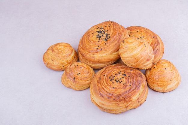 Petits pains traditionnels du caucase au cumin