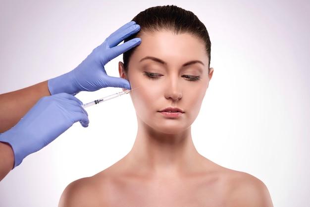 Peur de la chirurgie sur le visage