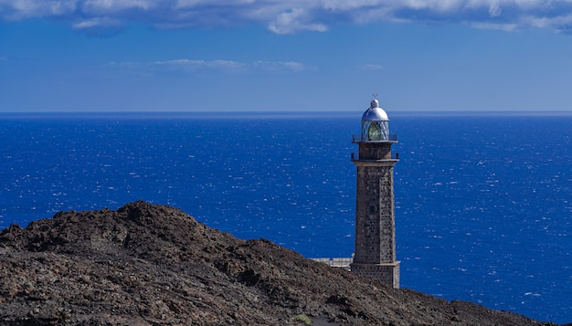 Phare de faro de orchilla, el hierro, îles canaries, espagne
