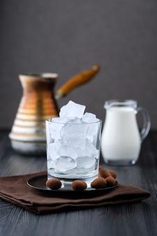 Phase de fabrication du café glacé