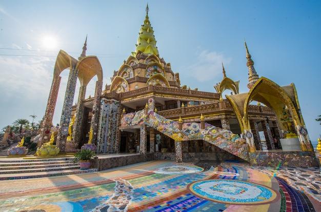 Phasor kaew temple est un temple avec une belle thaïlande