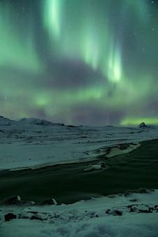 Phénomène de l'aurore verte