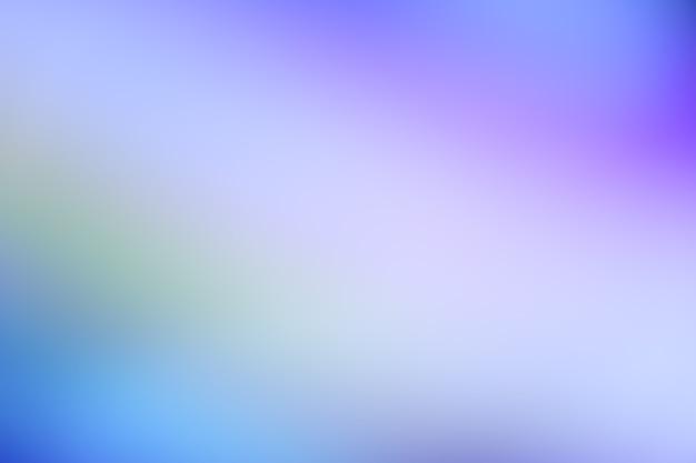 Photo abstraite défocalisée dégradé bleu