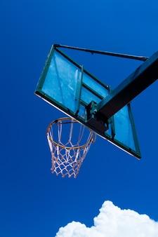 Photo du panier de basket
