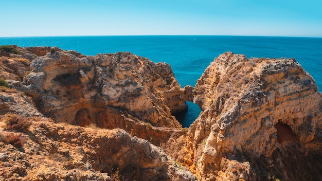 Photo fascinante de ponta da piedade, au portugal