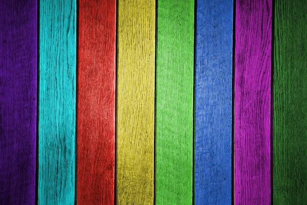 Photo gros plan de couleur grunge de texture de planche