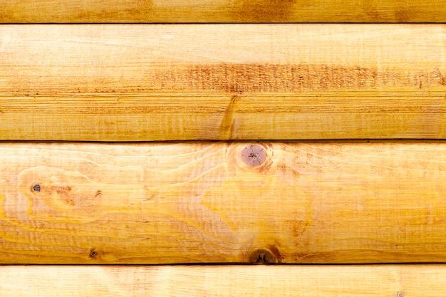 Photo en gros plan d'une partie du mur du bâtiment, en bois