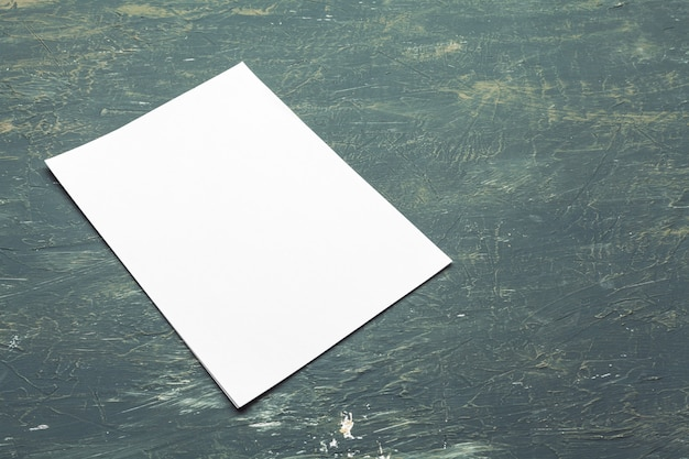 Photo. modèle d'identité de marque. pour les présentations et les portfolios des graphistes