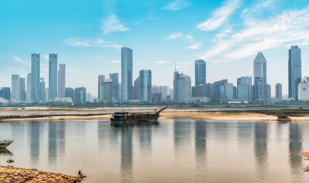 Photo panoramique de la chine nanchang