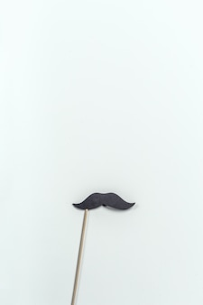 Photo prop moustache sur une table