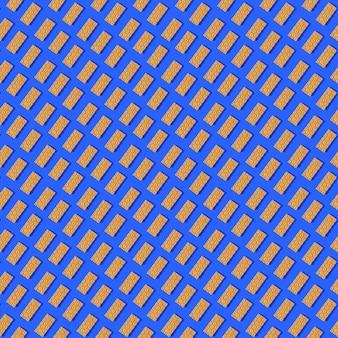 Photo sous forme de chips de couleur orange transparente pour une alimentation saine avec des ombres sur un