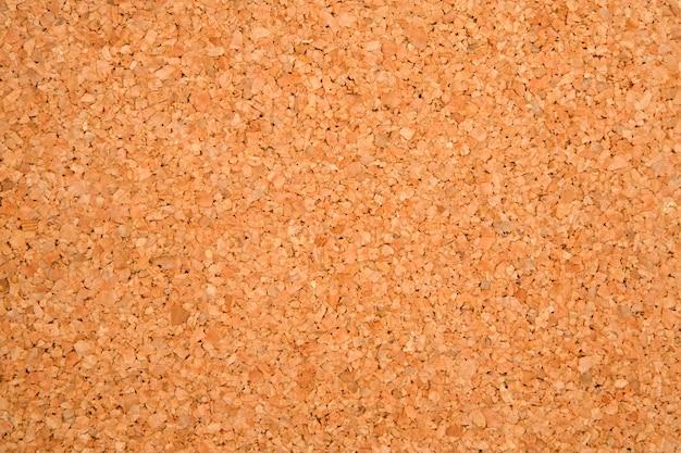 Photo de texture d'un panneau de liège vide