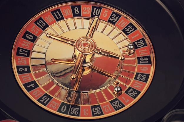 Photo tonique de jeu de casino de roulette