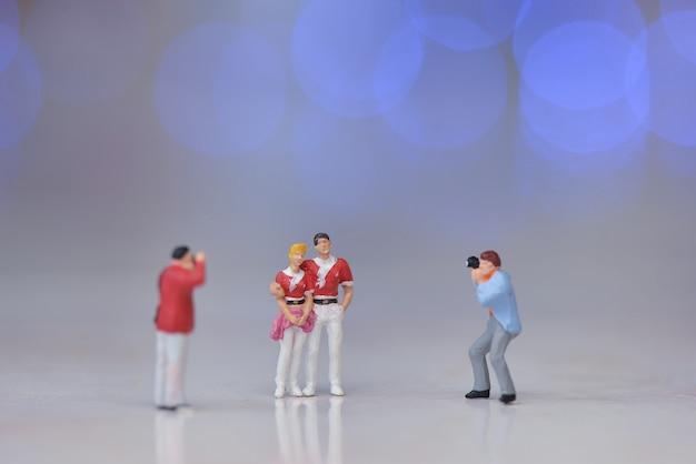 Photographe de figurines miniatures