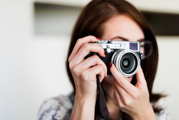 Photographe photographie photographie café concept