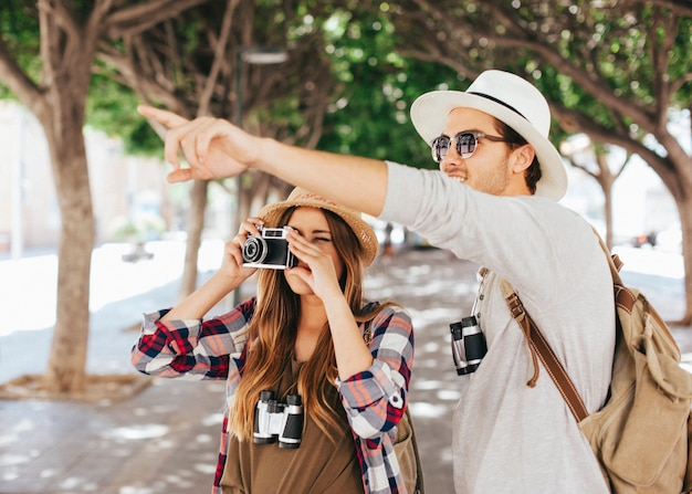 Photographes en déplacement