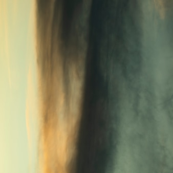 Photographie abstraite d'un ciel nuageux