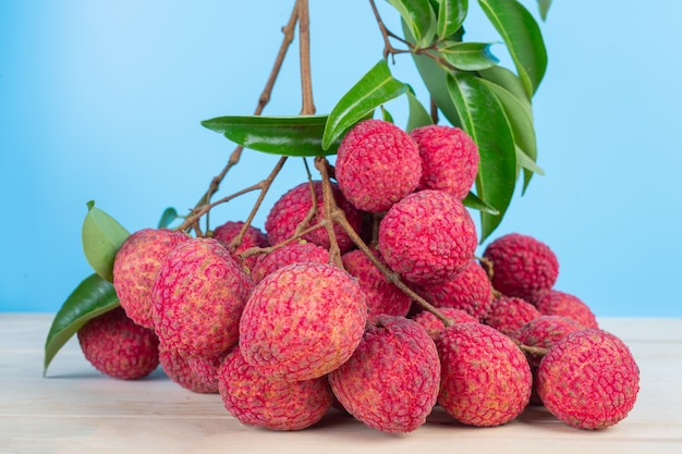 Photographie de fruits de litchi