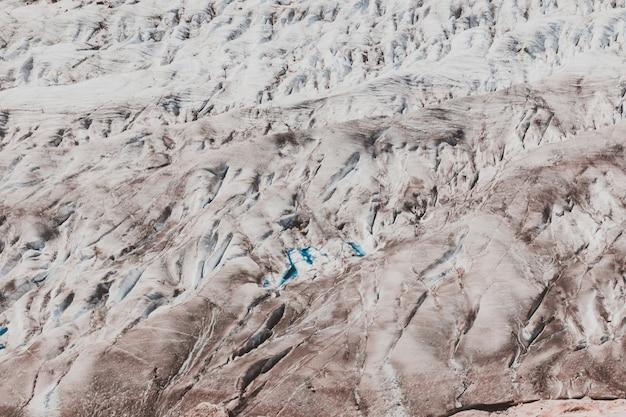 Photographie grand glacier d'aletsch, fond de neige vide