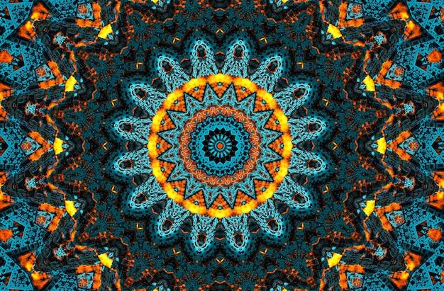 Photographie d'illustration d'art abstrait, papier peint, design et arrière-plan. parfait pour le motif batik, la bohème, l'art mural, le cadre de miroir, le fond de luxe, la conception de tapis, le motif de tapisserie, le tapis.