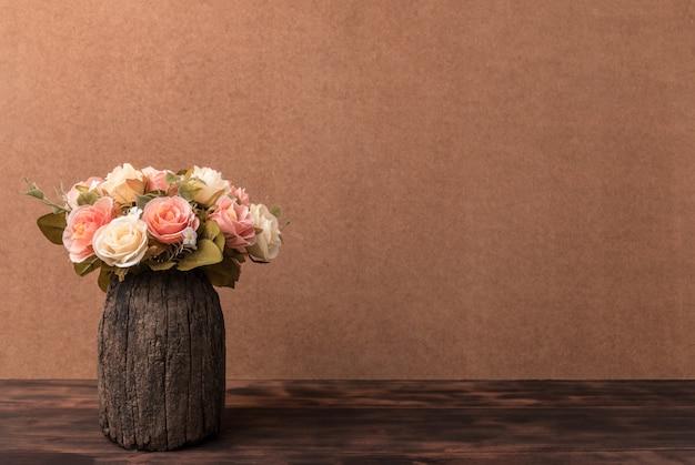Photographie de la nature morte avec des roses