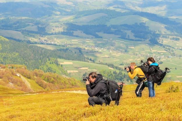 Photographie de paysage dans les carpates