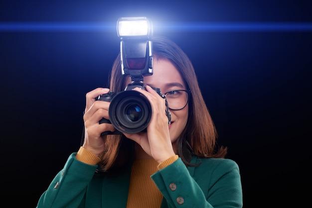 Photographier dans l'obscurité