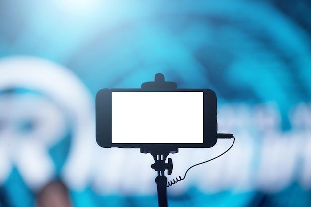Photographier avec un smartphone en concert