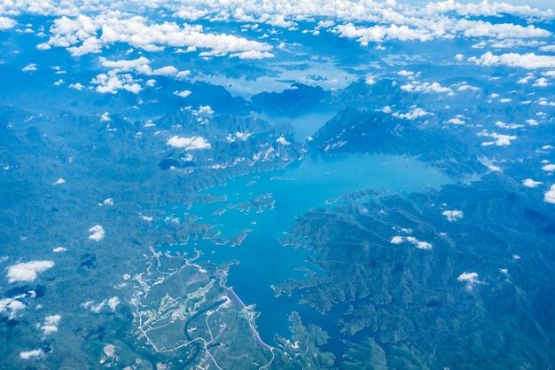 Phuket terrestre vue côte de la plage