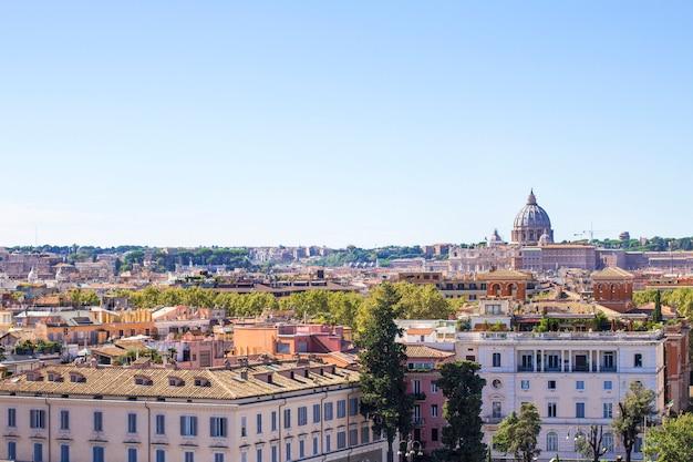 Piazza del popolo (vue de la colline pincho)