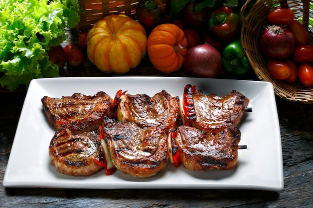 Picanha, barbecue brésilien