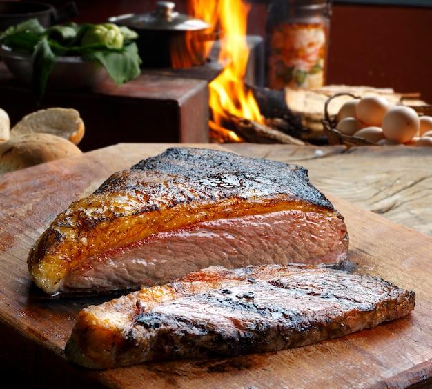 Picanha, barbecue traditionnel brésilien.