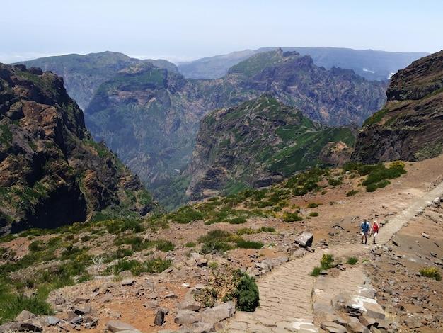 Pico do arieiro sur l'île de madère