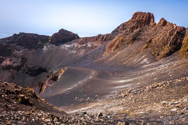 Pico do fogo crater, cha das caldeiras, cap-vert