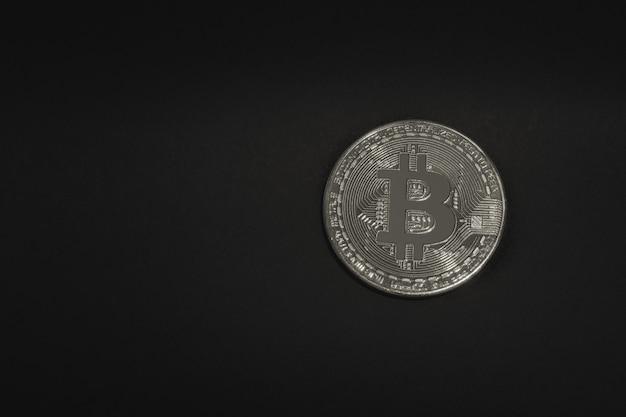 Pièce d'argent bitcoin