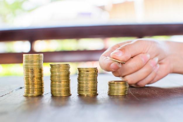 Pièce d'argent pour la croissance de votre entreprise