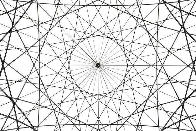 Pièce d'art architectural abstrait