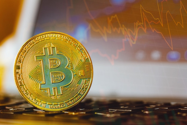 Pièce de monnaie bitcoin