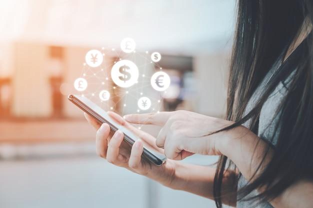 Pièce de monnaie initiale offrant des finances aux entreprises