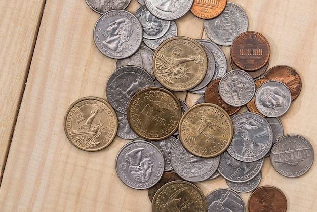 Pièce de monnaie usa sur 24
