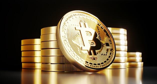 Pièce d'or bitcoin